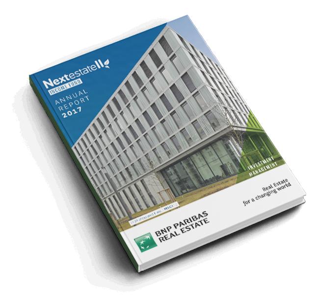 Rapport annuel Nextestate Income Fund II de BNP Paribas REIM Luxembourg