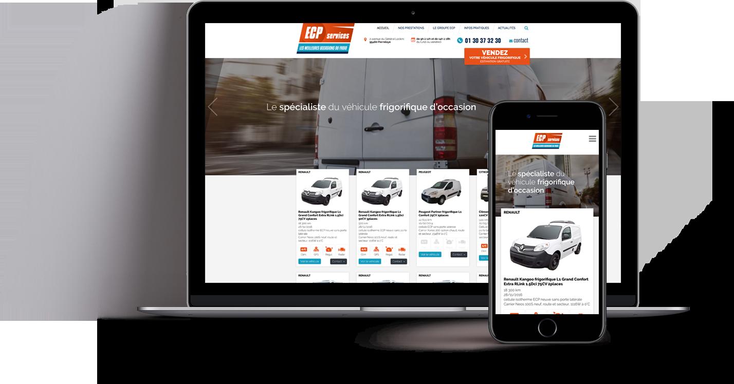 Site internet ECP Services